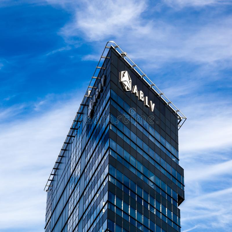 Aizkraukles bank, Ryski, Latvia zdjęcia stock