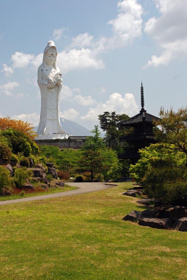 Aizumura, Aizu Wakamatzu, Giappone immagini stock libere da diritti