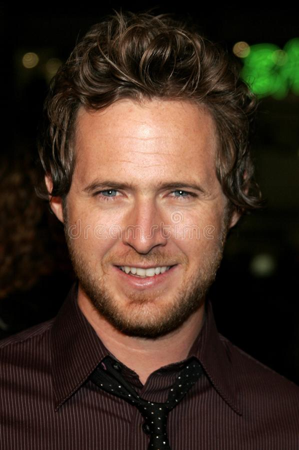 AJ Buckley. HOLLYWOOD, CALIFORNIA. Wednesday October 4, 2006. AJ Buckley attends the Los Angeles Premiere of `Man of the Year` held at the Mann`s Chinese Theater stock image