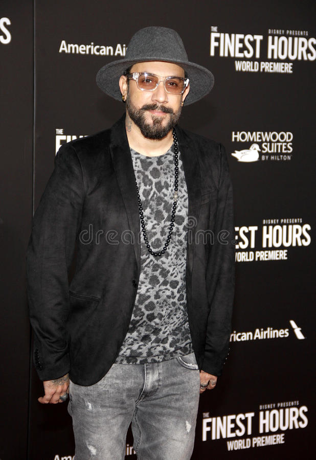 AJ McLean photos stock