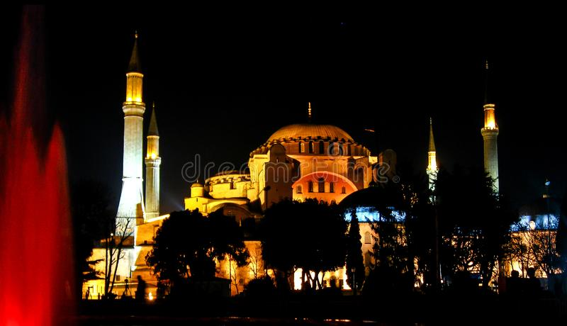 Aja Sofia em Istambul imagem de stock