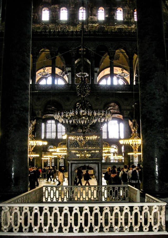 Aja Sofia en Estambul fotografía de archivo libre de regalías