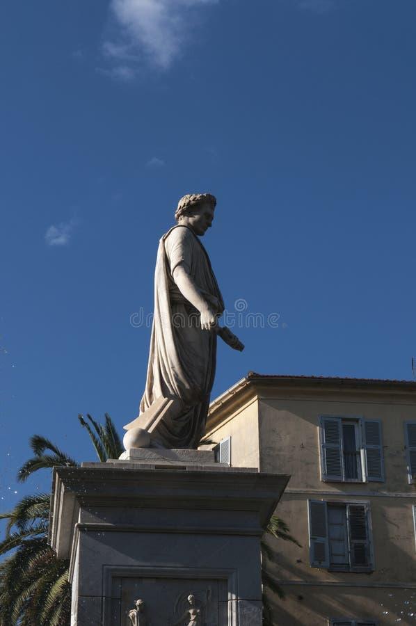 Ajaccio, Citadel, Corsica, Zuid-Corsica, Zuidelijk Corsica, Frankrijk, Europa stock fotografie