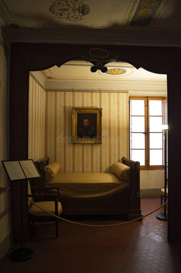 Ajaccio, Citadel, Maison Bonaparte, Corsica, Zuid-Corsica, Zuidelijk Corsica, Frankrijk, Europa royalty-vrije stock afbeeldingen