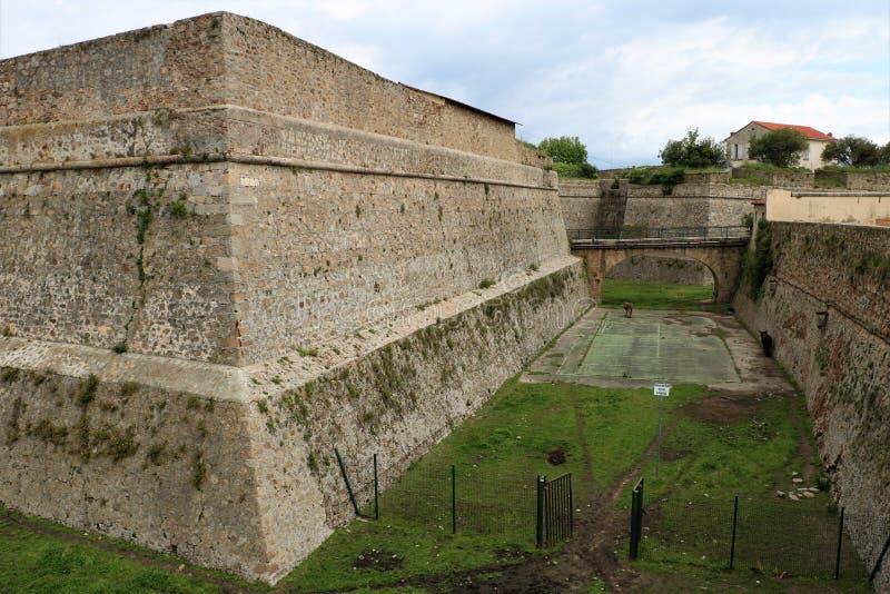 Ajaccio forteca zdjęcie stock