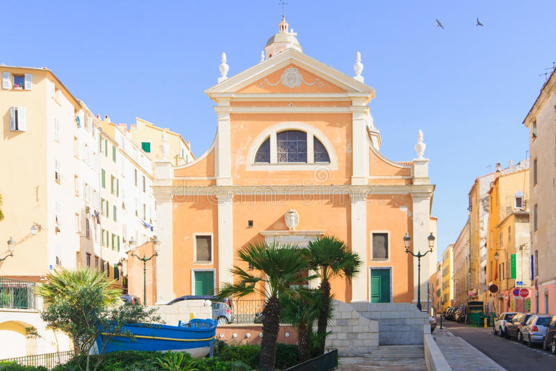 Ajaccio katedra fotografia royalty free