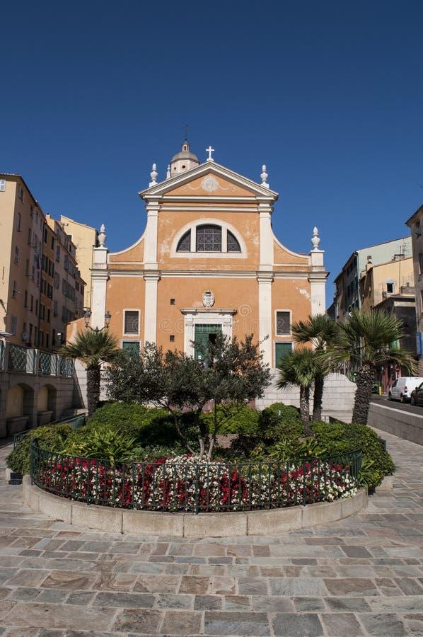 Ajaccio, Ajaccio katedra, Corsica, Corse Du Sud, Południowy Corsica, Francja, Europa obraz stock