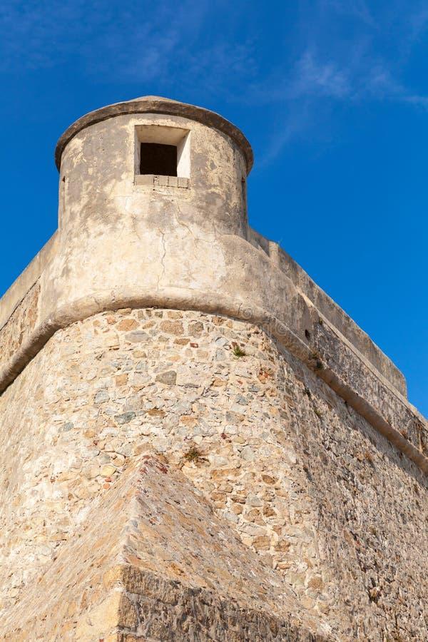 Ajaccio, La Citadelle Oude vesting, Corsica, Frankrijk royalty-vrije stock afbeelding