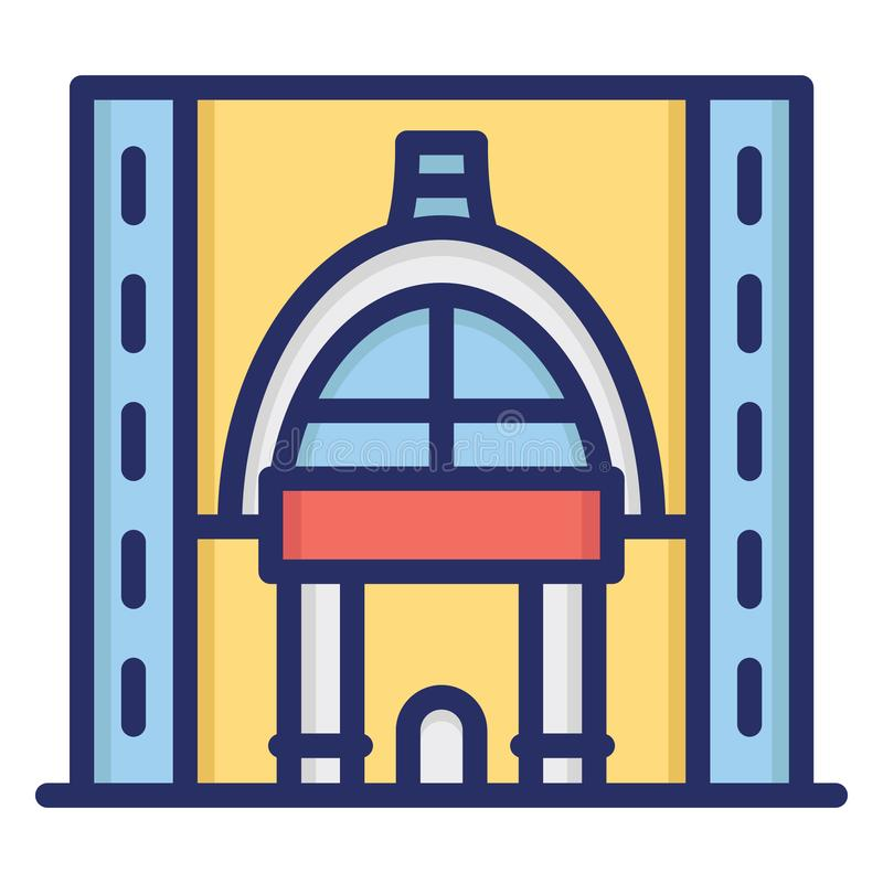 Free Ajanta Caves, Chaitya Hall Isolated Vector Icon Which Can Be Easily Modified Or Edit Royalty Free Stock Photos - 161762328