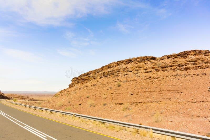 Ajardine en el camino cerca de Seeheim en Namibia imagen de archivo libre de regalías