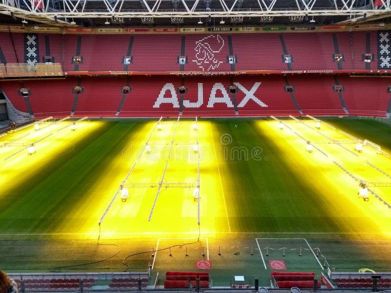Ajax Amsterdam Stadium imagens de stock