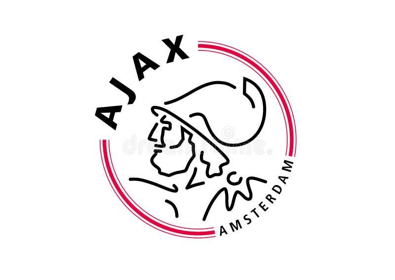 Ajax Logo illustrazione di stock