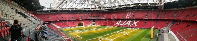 Ajax Panorama 2017 imágenes de archivo libres de regalías