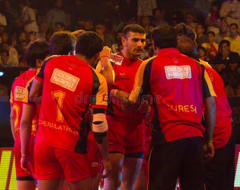 Ajay Thakur Kabaddi stock fotografie