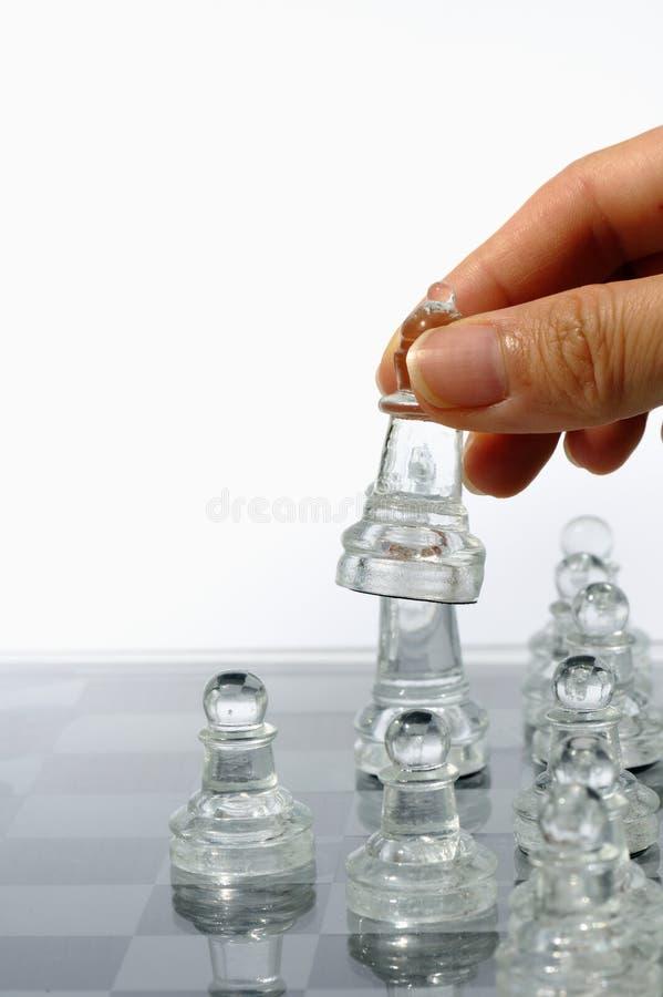 Ajedrez de cristal 2 imagenes de archivo