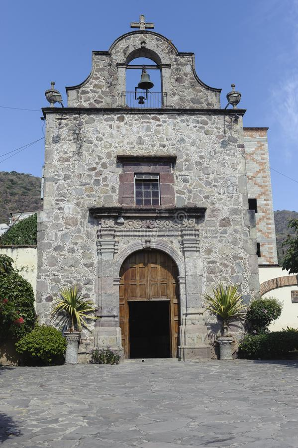 Ajijic Little Church. Capilla Nuestra Señora del Rosario, Ajijic Little Church, Ajijic, Jalisco, Mexico stock image
