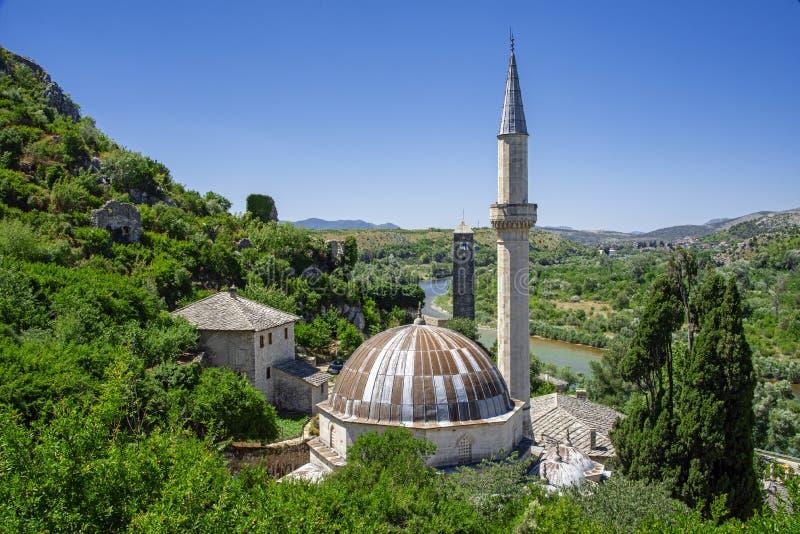 ajji Alija meczet: budujący w 1563 hadżi, syn Musa zdjęcie royalty free
