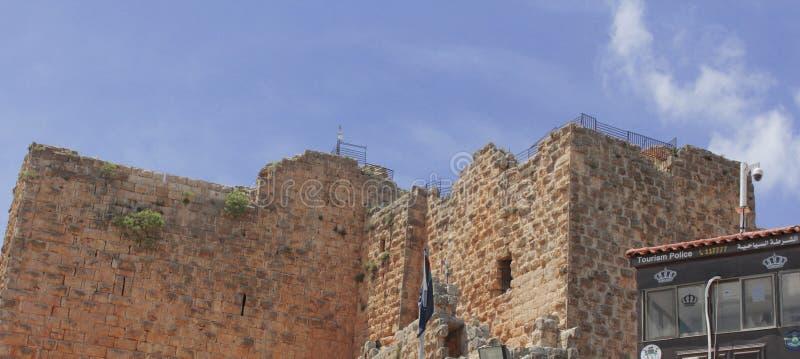 Ajloun Castle στοκ εικόνες
