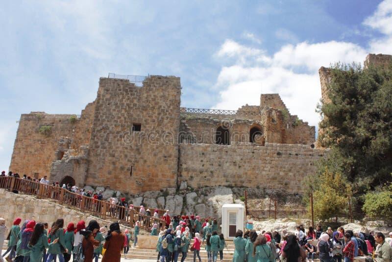 Ajloun Castle στοκ εικόνα