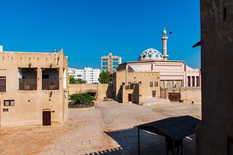 Ajman, Объениненные Арабские Эмираты - 6-ое декабря 2018: Sho музея Ajman стоковые изображения