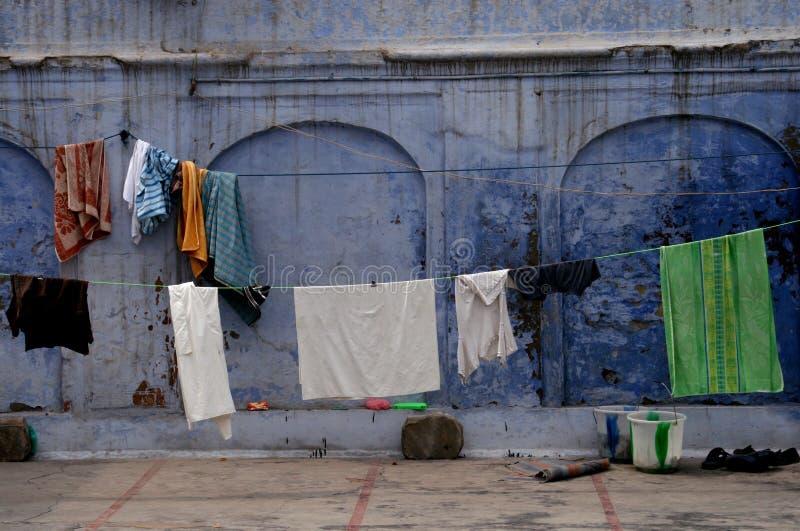 ajmer μπλε οδός της Ινδίας στοκ φωτογραφίες