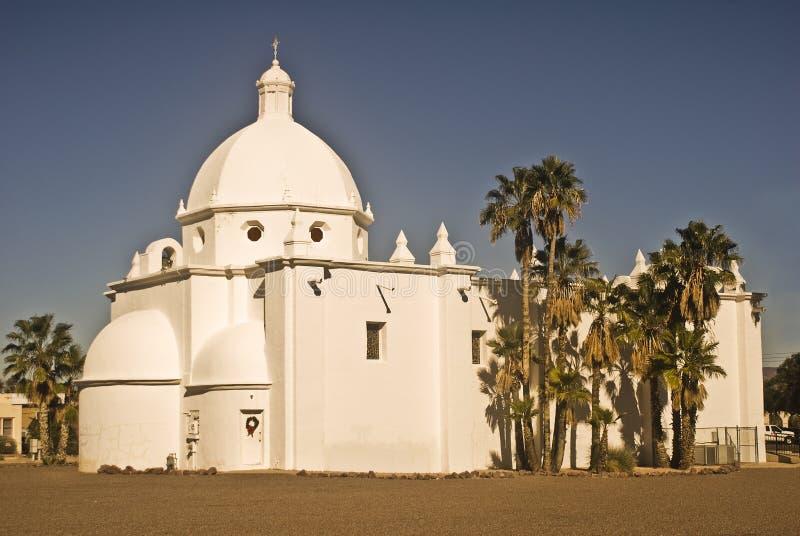 ajo Arizona kościół południowi zachody obrazy royalty free