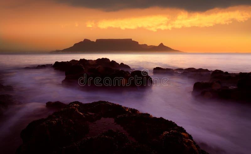 Montagne de Tableau, Cape Town photos libres de droits