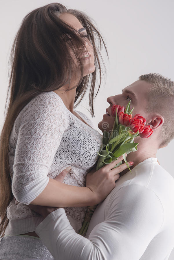 Ajouter aux fleurs photos stock
