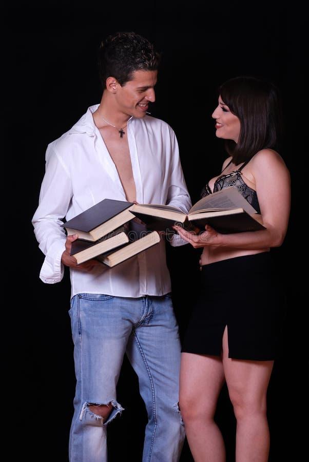 Ajouter grecs aux livres images stock