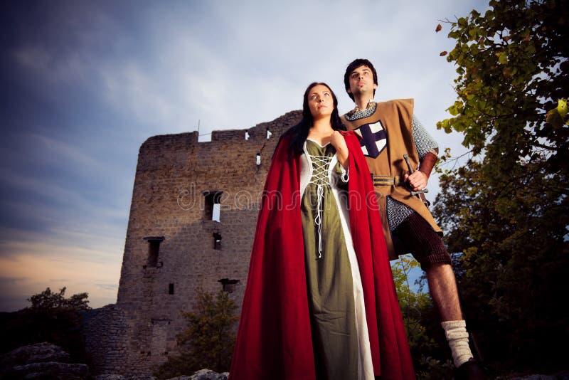 Ajouter médiévaux à la forteresse photo libre de droits