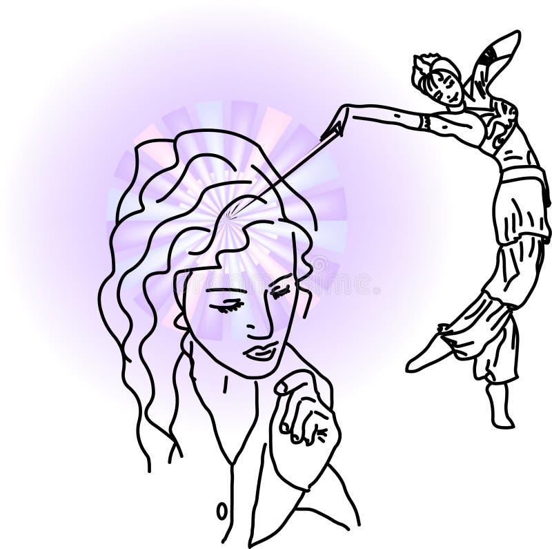 Ajuda ilustração do vetor