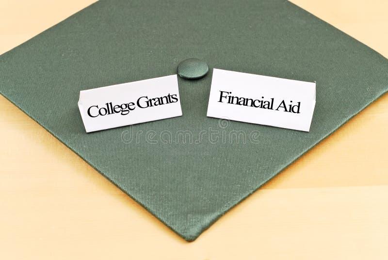 Ajuda com taxa de matrícula da faculdade fotos de stock royalty free