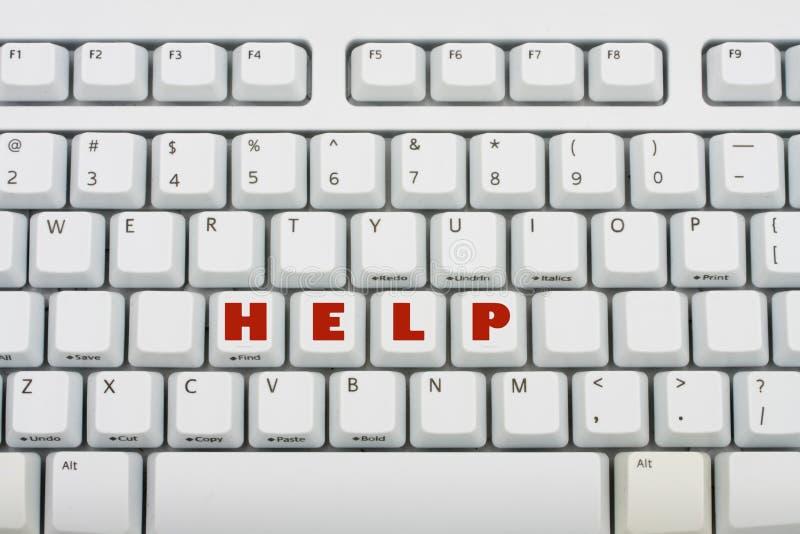Ajuda do computador imagens de stock