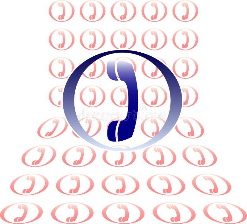 Ajuda do telefone ilustração do vetor