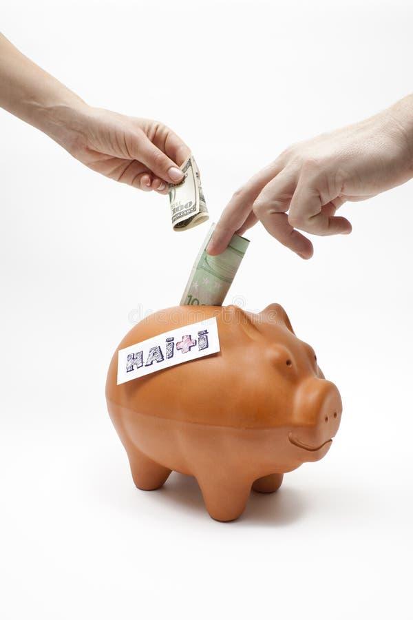 Download Ajuda Haiti imagem de stock. Imagem de excepto, economia - 12800237