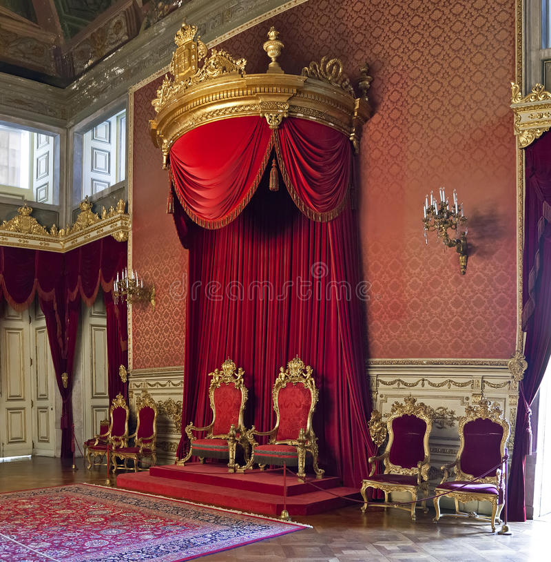 Free Ajuda National Palace Lisbon Stock Photography - 38071102