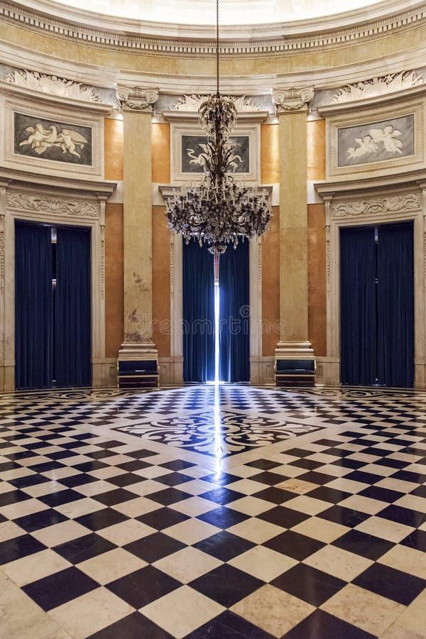 Free Ajuda National Palace Lisbon Stock Photography - 38075212