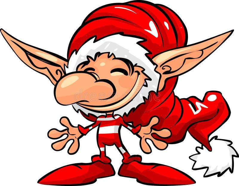 Ajudante de Santa ilustração royalty free