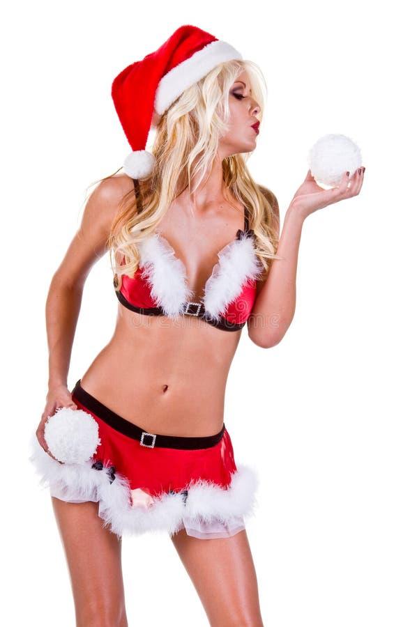 Ajudante de Santa do Natal imagem de stock royalty free