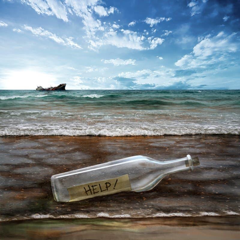 Ajude o ambiente! fotos de stock royalty free