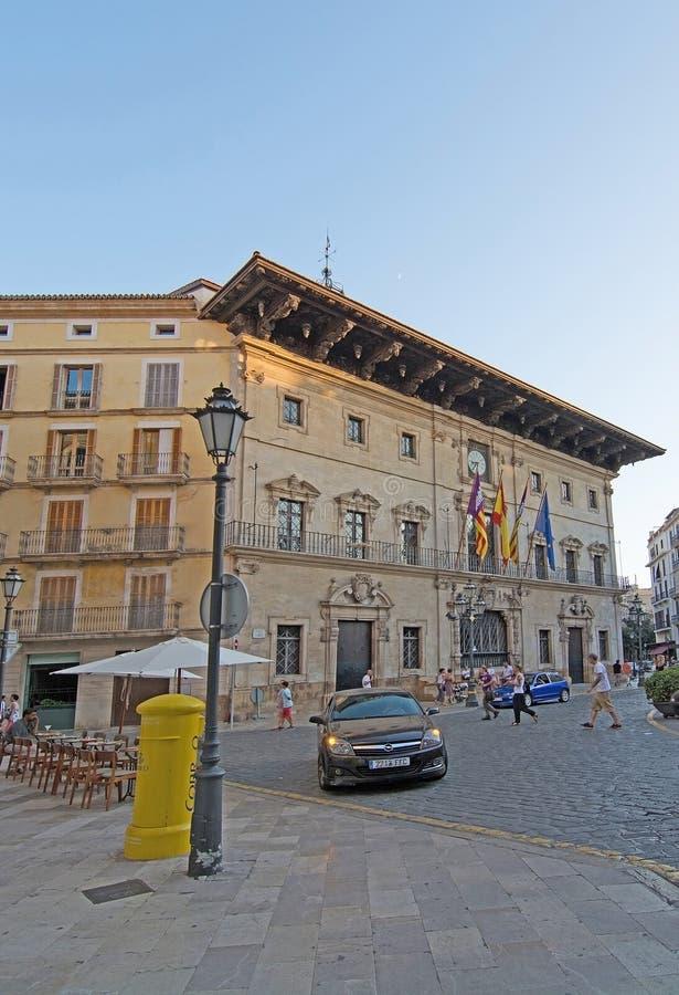 Ajuntament DE Palma de Mallorca royalty-vrije stock fotografie