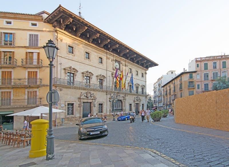 Ajuntament DE Palma de Mallorca stock foto