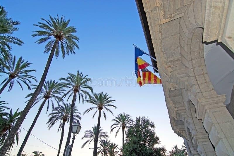 Ajuntament DE Palma de Mallorca stock foto's