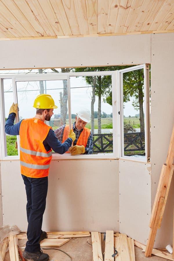 Ajustadores especializados da janela fotografia de stock royalty free