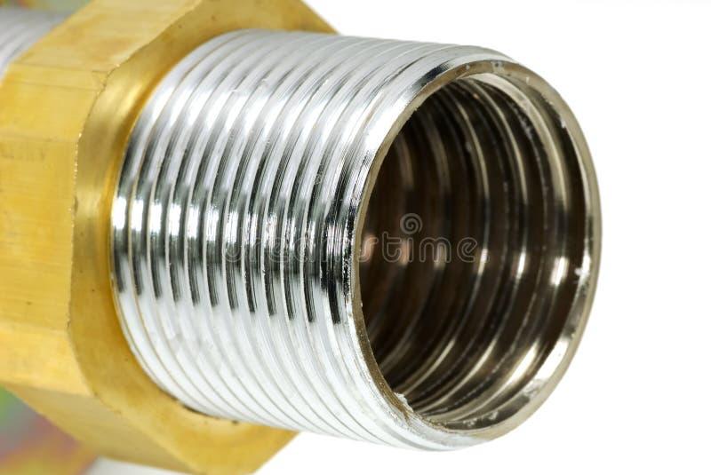 Ajustage de précision de tuyauterie image libre de droits