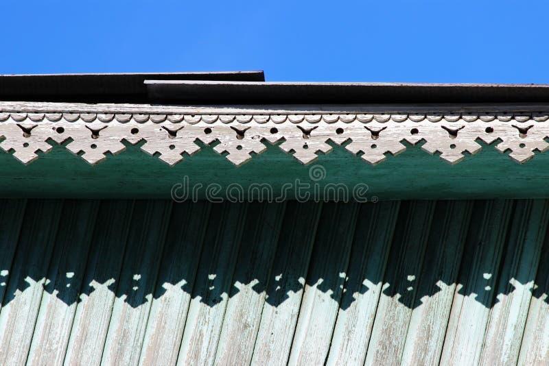 ajuste artsy de la decoración y casa de madera vieja clásica color de madera de la turquesa de la textura de los modelos triangul fotografía de archivo