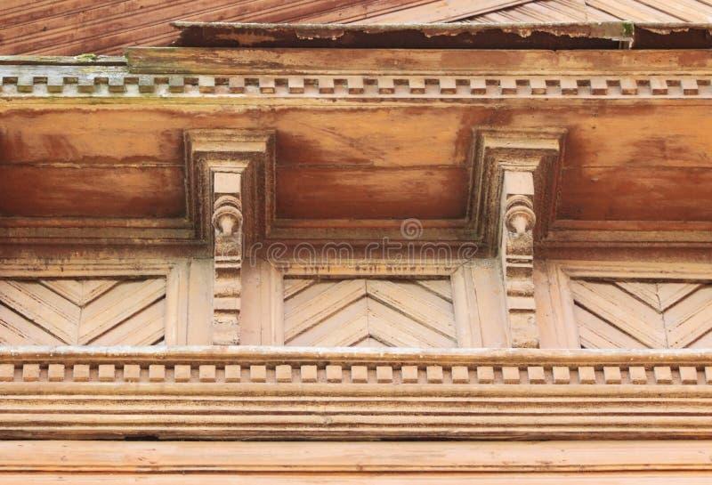 ajuste artsy de la decoración y casa de madera vieja clásica color de madera del ladrillo de la textura de los modelos triangular imágenes de archivo libres de regalías