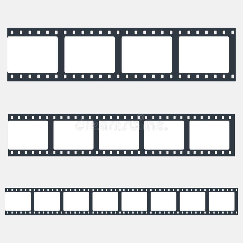Ajuste das tiras do filme ilustração do vetor