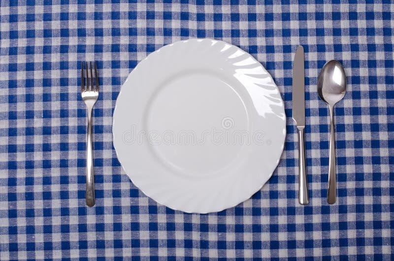 Ajuste de la comida imagen de archivo