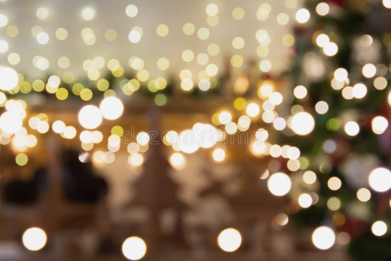 Ajuste de la Navidad, chimenea de la linterna foto de archivo